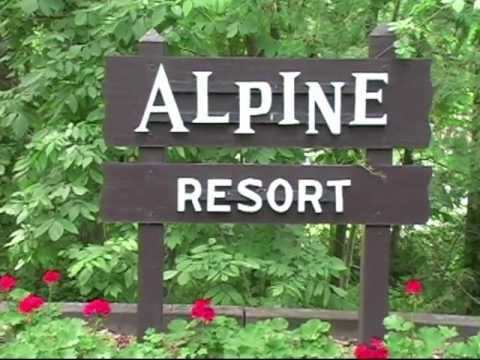 Sign at the Alpine